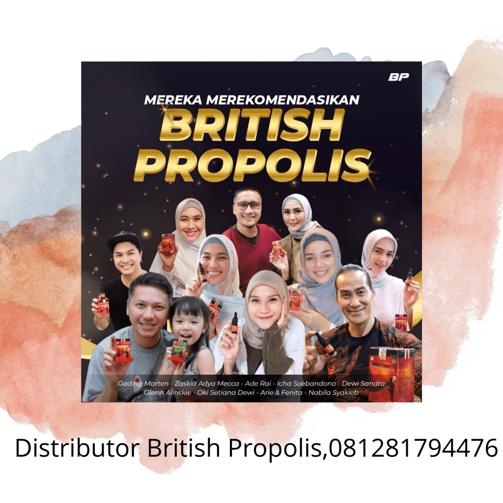 Distributor British Propolis,081281794476